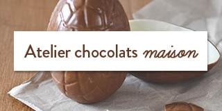 Atelier chocolats maison