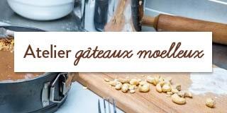 Atelier gâteaux moelleux